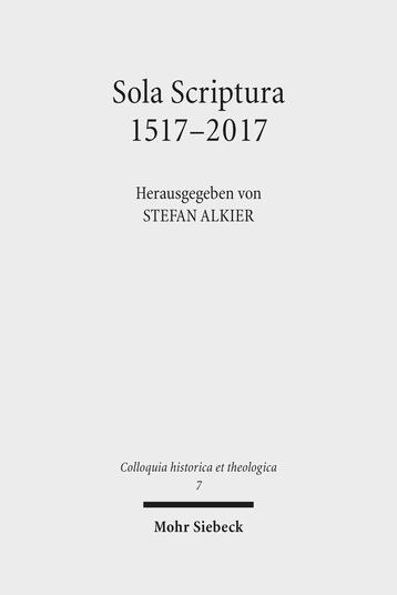 Sola Scriptura 1517–2017