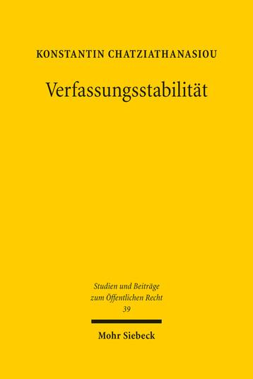 Verfassungsstabilität