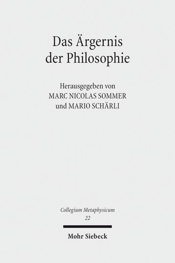 Das Ärgernis der Philosophie