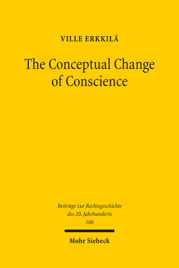The Conceptual Change of Conscience