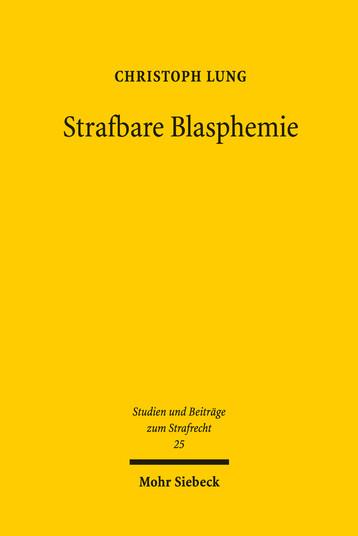 Strafbare Blasphemie