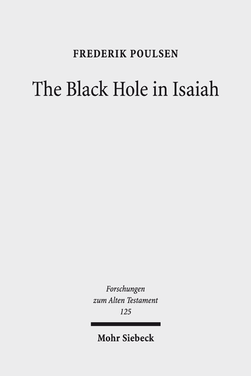 The Black Hole in Isaiah
