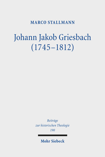 Johann Jakob Griesbach (1745–1812)