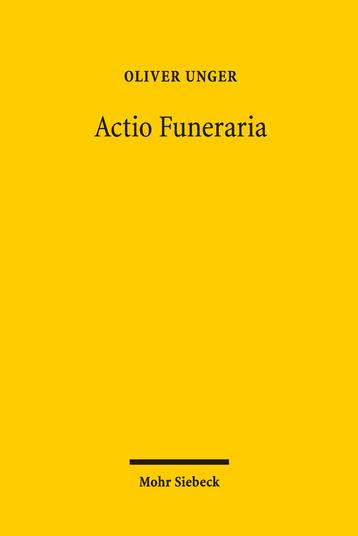Actio Funeraria