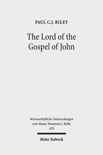 The Lord of the Gospel of John
