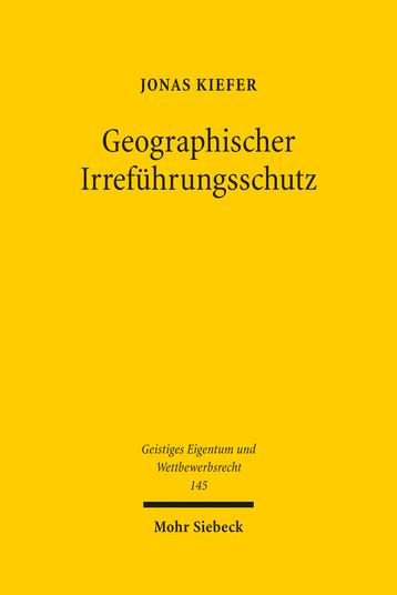 Geographischer Irreführungsschutz