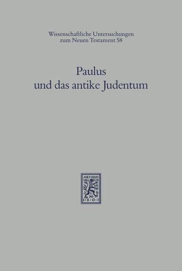 Paulus und das antike Judentum