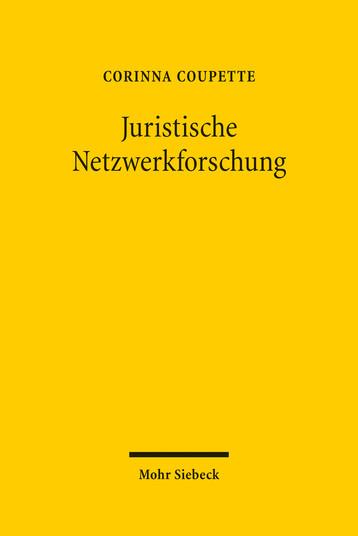 Juristische Netzwerkforschung