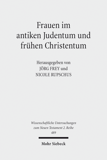 Frauen im antiken Judentum und frühen Christentum