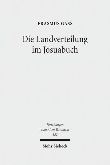 Die Landverteilung im Josuabuch