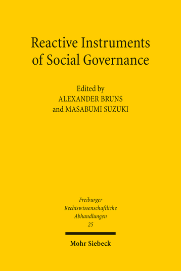 Reactive Instruments of Social Governance