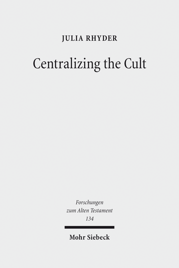 Centralizing the Cult