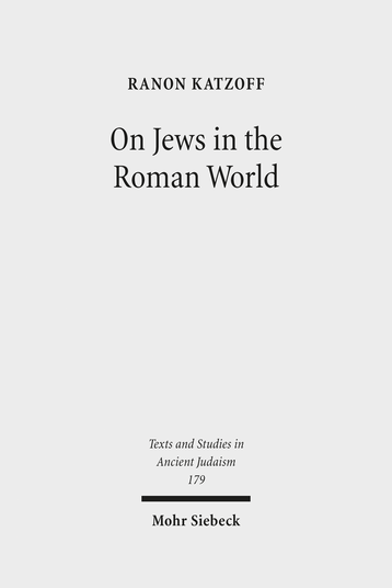 On Jews in the Roman World