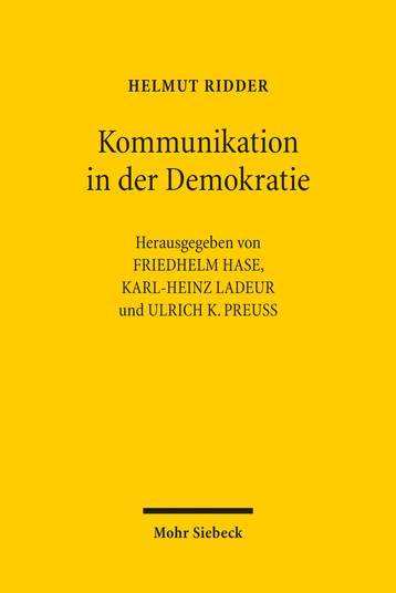 Kommunikation in der Demokratie