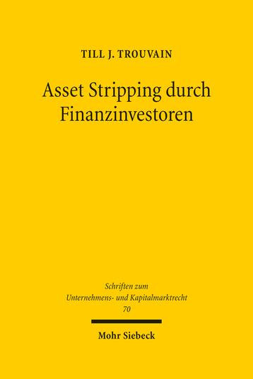 Asset Stripping durch Finanzinvestoren