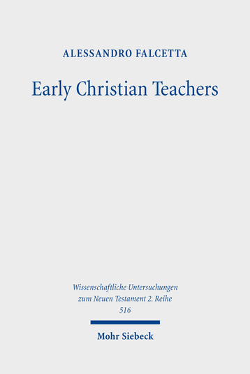 Early Christian Teachers