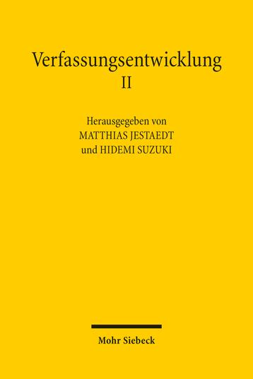 Verfassungsentwicklung II
