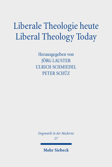 Liberale Theologie heute – Liberal Theology Today