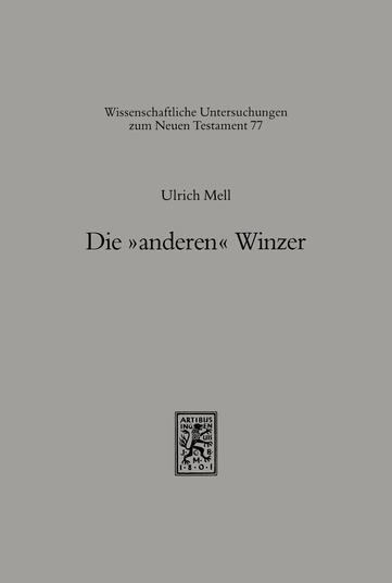 Die »anderen« Winzer