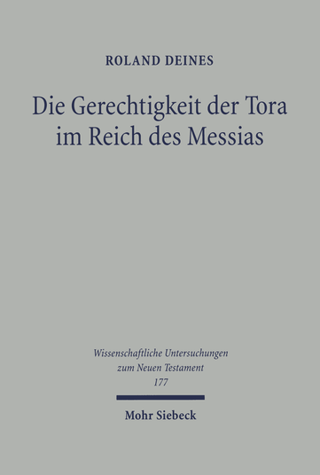 Die Gerechtigkeit der Tora im Reich des Messias
