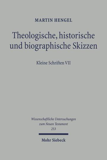 Theologische, historische und biographische Skizzen