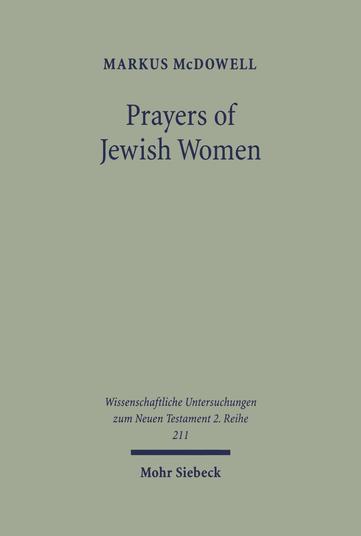 Prayers of Jewish Women