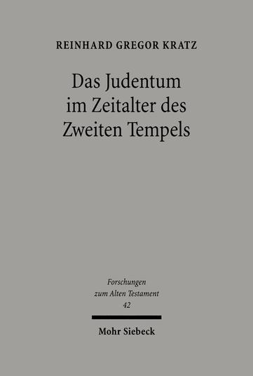 Das Judentum im Zeitalter des Zweiten Tempels