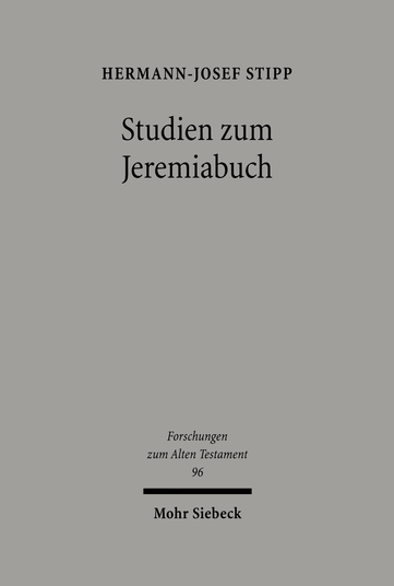 Studien zum Jeremiabuch