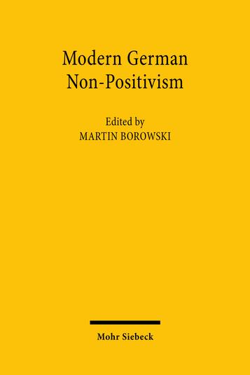 Modern German Non-Positivism