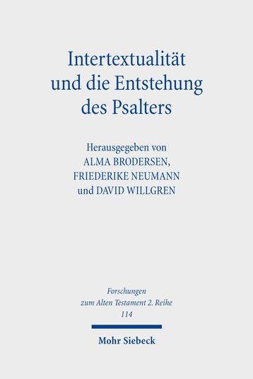 Intertextualität und die Entstehung des Psalters