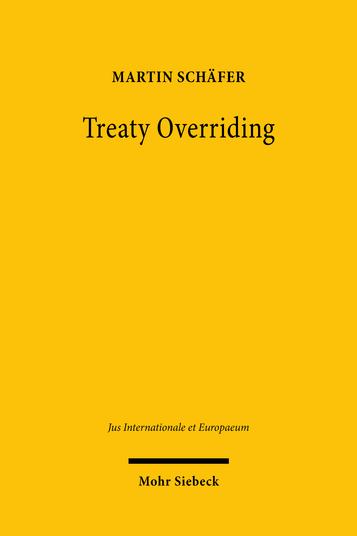 Treaty Overriding