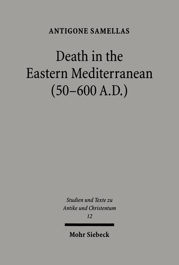 Death in the Eastern Mediterranean (50–600 A.D.)