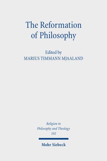The Reformation of Philosophy