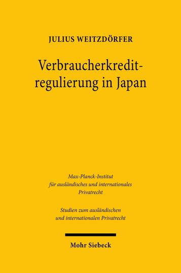 Verbraucherkreditregulierung in Japan