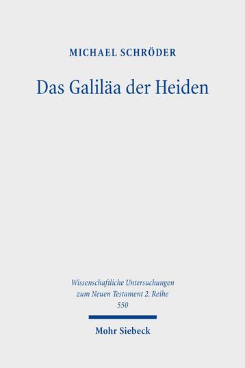 Das Galiläa der Heiden