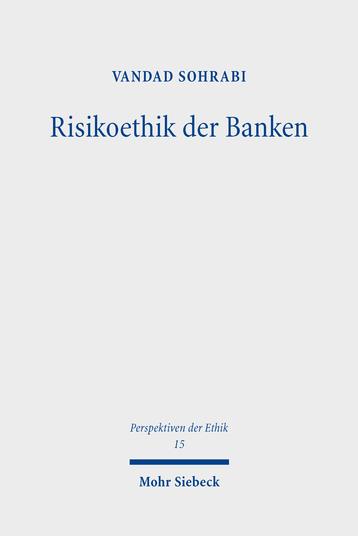Risikoethik der Banken