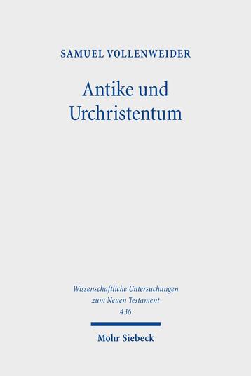 Antike und Urchristentum