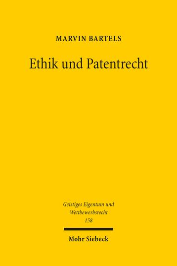 Ethik und Patentrecht