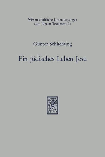 Ein jüdisches Leben Jesu