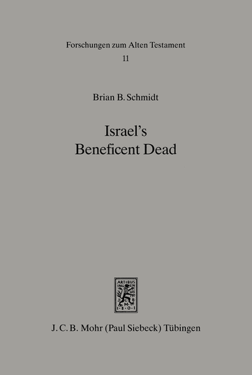 Israel's Beneficent Dead