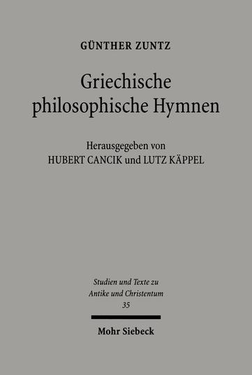 Griechische philosophische Hymnen