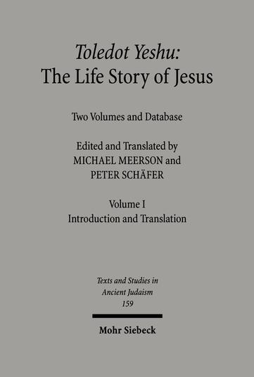 Toledot Yeshu: The Life Story of Jesus