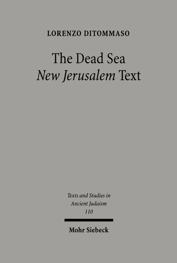 The Dead Sea 'New Jerusalem' Text