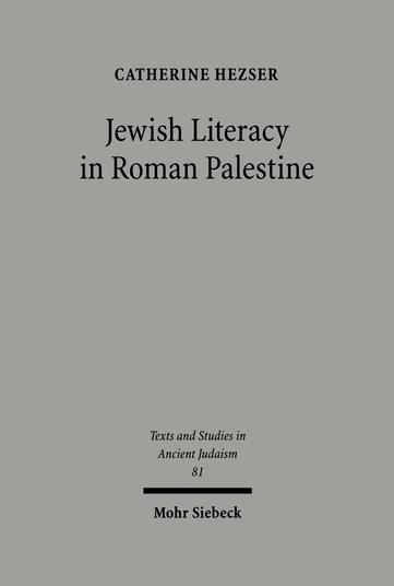 Jewish Literacy in Roman Palestine
