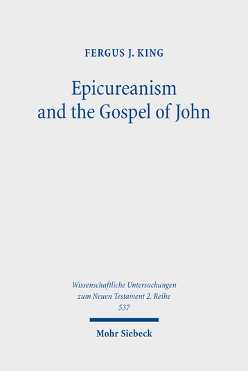 Epicureanism and the Gospel of John