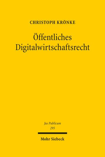 Öffentliches Digitalwirtschaftsrecht