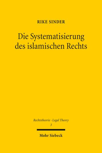 Die Systematisierung des islamischen Rechts