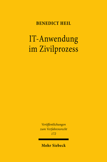 IT-Anwendung im Zivilprozess