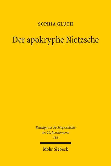 Der apokryphe Nietzsche