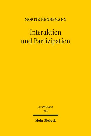 Interaktion und Partizipation